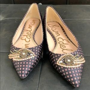 Barely worn Sam Edelman flats